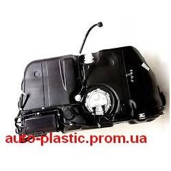 Бак топливный, бензобак ВАЗ 2190 Гранта, 1119 Калина инжекторная в сборе с ЭБН и адсорбером пластик