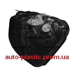Бак топливный, бензобак ВАЗ 21074 инжекторный в сборе
