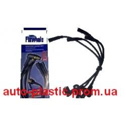 Провода высоковольтные ВАЗ 2104, 2107, 21214 Нива инжектор, силикон (Finwhale)