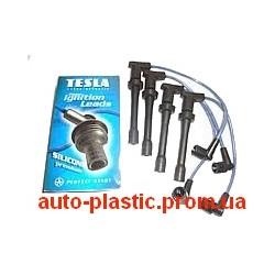 Провода высоковольтные ВАЗ 2110, 2111, 2112, Калина, Приора инжектор 16 кл. силикон (Tesla)