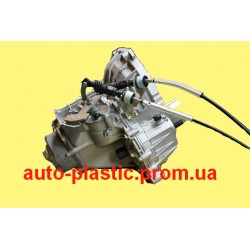 Коробка передач, КПП 2180 Гранта под тросовый привод, стартер 3 болта, датчик скорости - заглушка