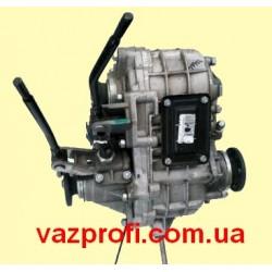 Раздатка, коробка раздаточная ВАЗ 2121, 21213, 21214 Нива в сборе (2 привода спидометра) АвтоВАЗ