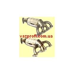 Выпускной коллектор ВАЗ 2110, ВАЗ 2111, ВАЗ 2112 с катализатором 8 кл. один лямбда-зонд
