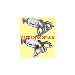 Выпускной коллектор ВАЗ 1118, ВАЗ 1117, ВАЗ 1119 Калина с катализатором 8 кл. два лямбда-зонда