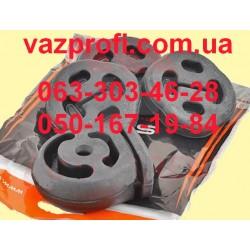 Подушки глушителя СЭВИ ЭКСПЕРТ ВАЗ 2110, 2111, 2112,3-пряника, 1-будильник