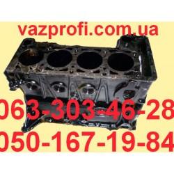 Блок цилиндров ВАЗ 2123 Нива Шевроле 1,7 литра 8 клапанов инжектор с крышками коренн. подшипн., втул