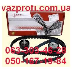 Ремень ГРМ комплект с роликами Pilenga ВАЗ 2170 Приора, 11194 Калина 16 кл