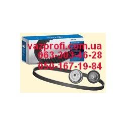 Ремень ГРМ комплект с роликами ВАЗ 2170 Приора, 11194 Калина 16 кл.