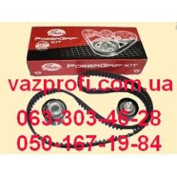 Ремень ГРМ комплект с роликами ВАЗ 2170 Приора, Калина 16 кл. GATES
