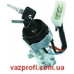 Замок зажигания ВАЗ 2110, ВАЗ 2111, ВАЗ 2112 с подсветкой короткий ключ ДААЗ