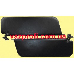Противосолнечные козырьки ВАЗ 2101 черные