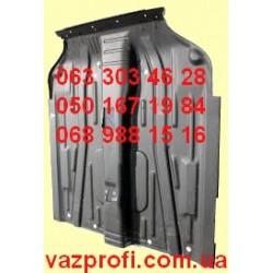 Задняя панель пола ВАЗ 2110 левая