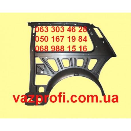 Панель боковая внутренняя правая(скелет) ВАЗ 2121