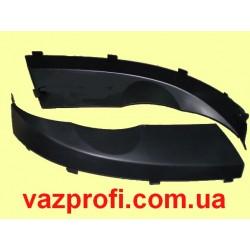 Облицовка фар ВАЗ 2123 ресницы бампера