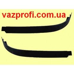 Облицовка фар нового образца ВАЗ 2123 ресницы бампера