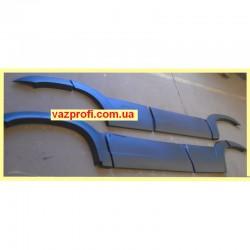 Накладка двери ВАЗ 2123 с арками(нового образца)