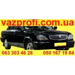 Бампер передний ГАЗ 31105 цвет Черный Солид, цвет №2