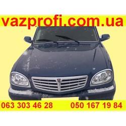 Передний бампер ГАЗ 31105 МОРСКОЙ БРИЗ, №6 серо-синий металлик  .Заводской.