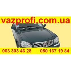Передний бампер ГАЗ 31105 АДРИЯ , №10  темно-зеленый металлик  Заводской.