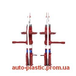 Стойки, амортизаторы ВАЗ 2170, 2171, 2172 Приора (ЛАДА-СПОРТ) газ (лев+прав) занижение 50 мм
